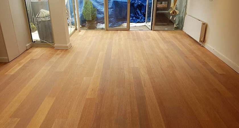 Wood Floor Restoration Clapham South London Before
