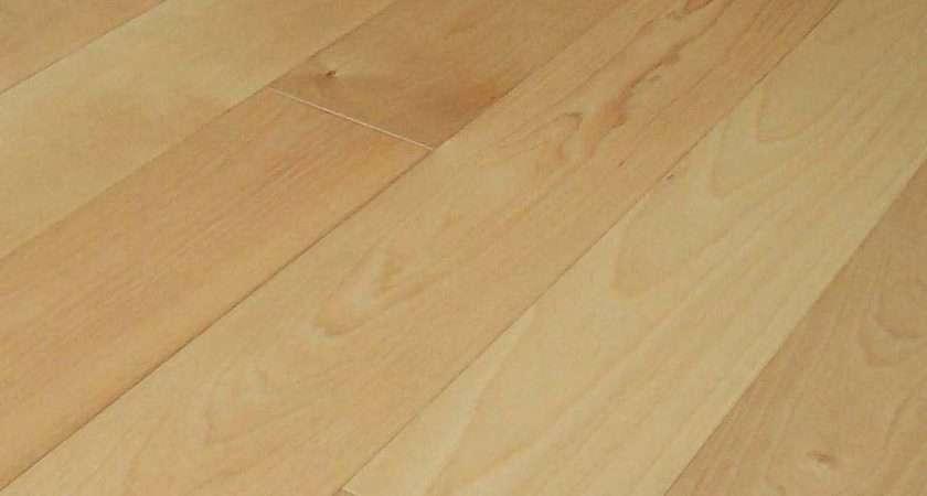 Wood Flooring Natural Finish Bir China Solid
