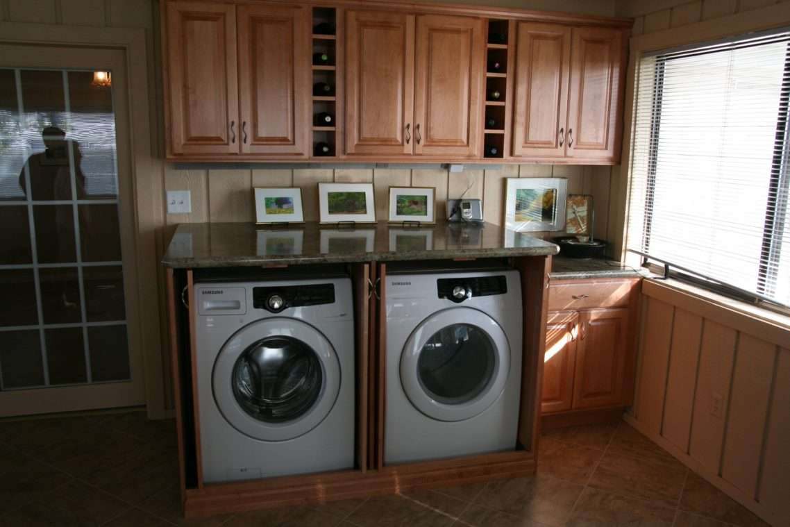 Wood Laundry Room Cabinets Inspiration Wonderful Small