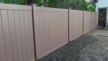 Wood Vinyl Aluminum Fence Installation Melrose