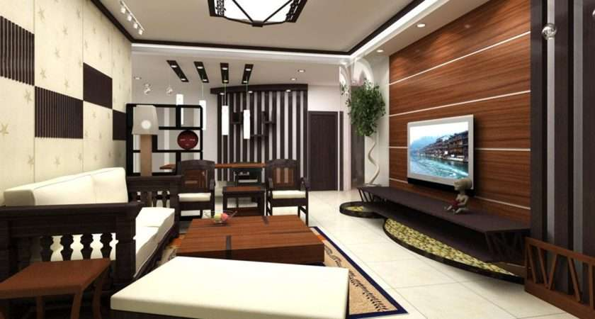 Wood Wall Fence Furniture Living Room Idea Wooden
