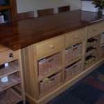 Wooden Breakfast Bar