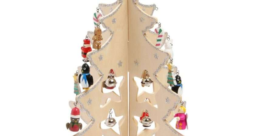Wooden Christmas Tree Decorations July