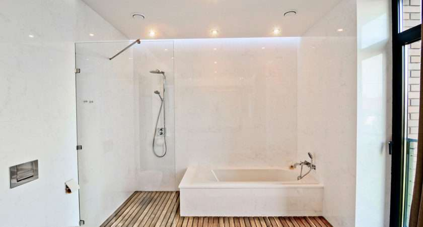 Wooden Floor Showers Indesigns Design Project Planning
