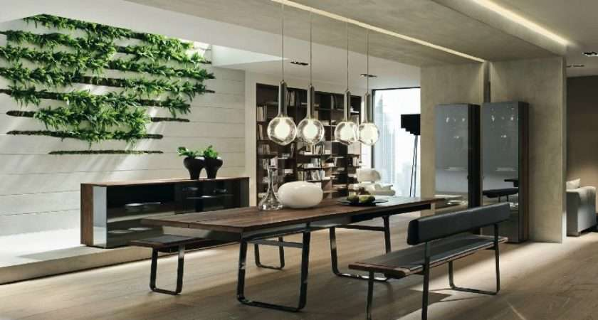 Wooden Furniture Contemporary Setting