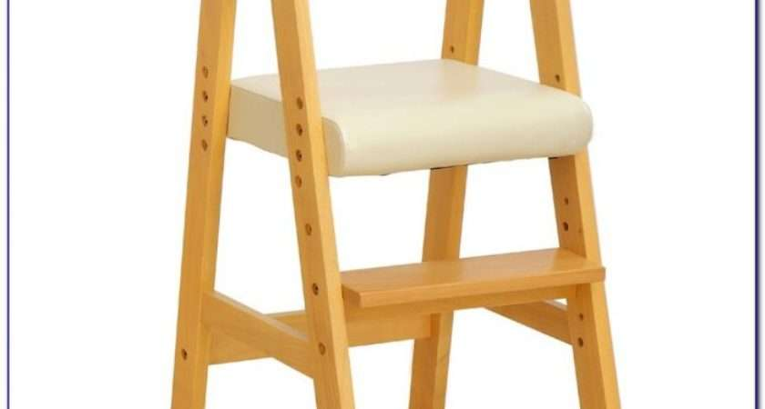 Wooden High Chairs Toddlers Home Design