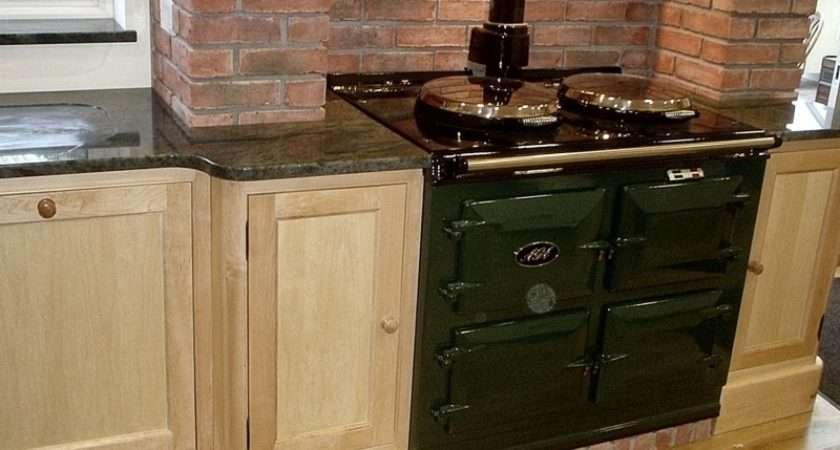 Wooden Kitchen Granite Worktops Oak Furniture Somerset