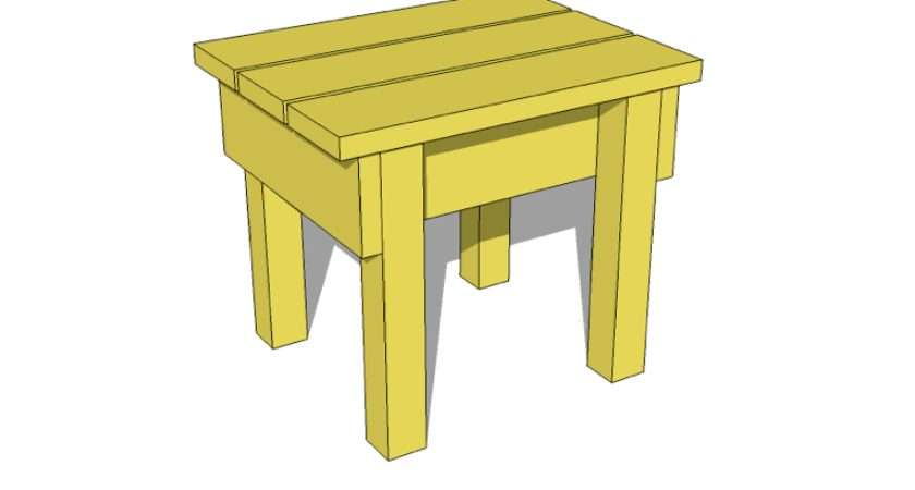 Woodworking Make Wooden Stool Pdf