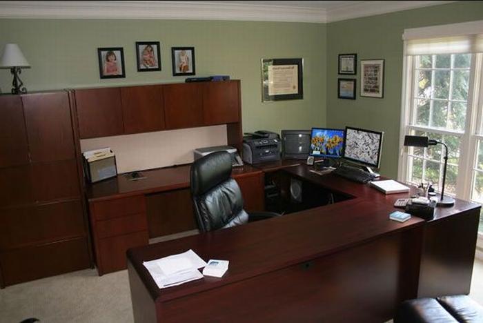 Work Office Decorating Ideas Men Top Design