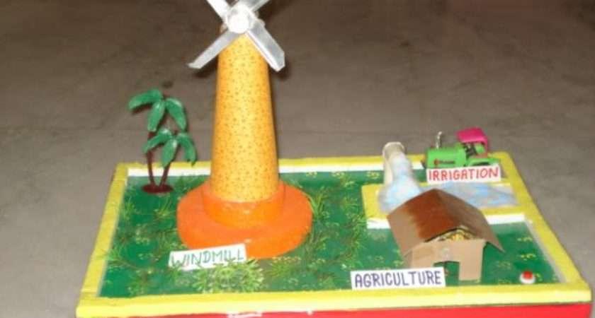 Working Model Windmill