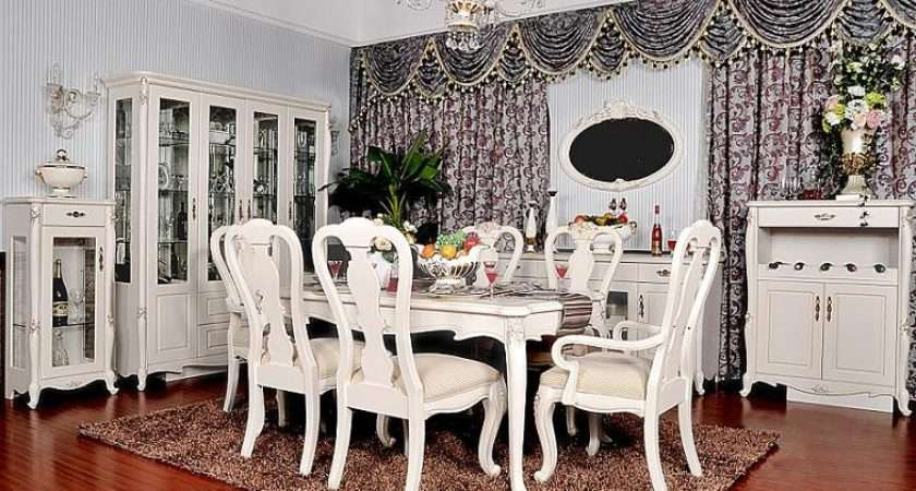 Wtj Fresh French Style Dining Room Furniture