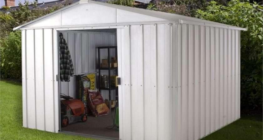 Yardmaster Apex Roof Metal Shed Homebase