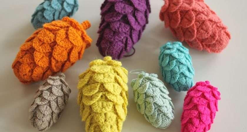 Yarnfreak Diy Crochet Pine Cones