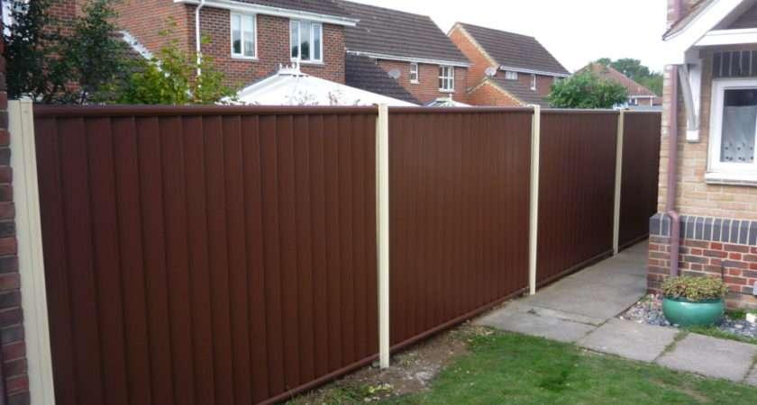 Year Guaranteed Durable Garden Fencing Colourfence