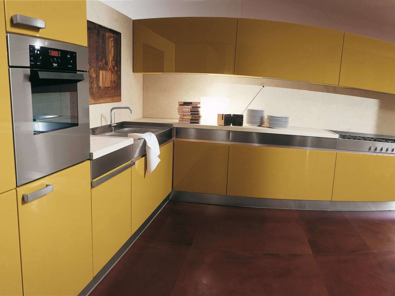 Yellow Anf Red Kitchen Decobizz