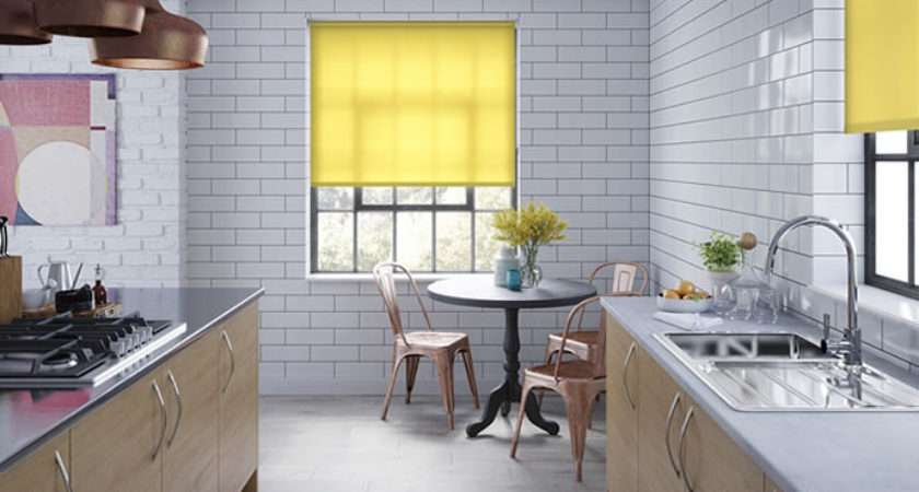 Yellow Blinds Made Measure