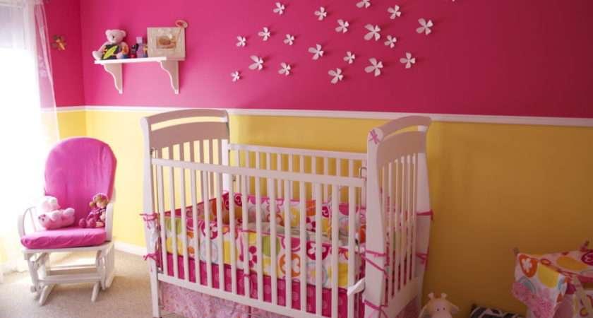 Yellow Girl Nurseries Pinterest Cupcake Nursery Painted Cribs