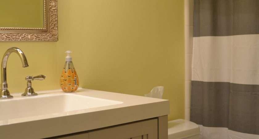 Yellow Gray Bathroom Spark