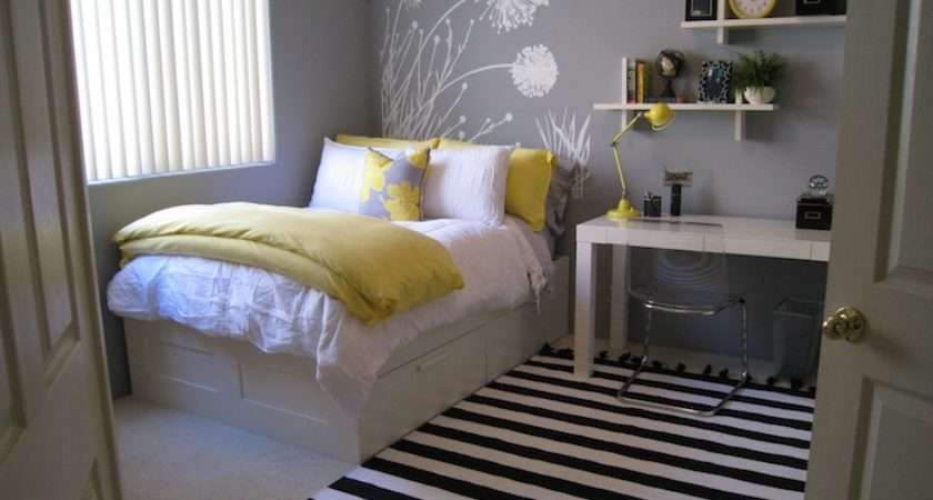 Yellow Gray Bedroom Contemporary Benjamin Moore Pigeon