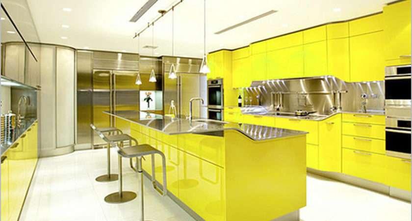 Yellow Kitchen Designs