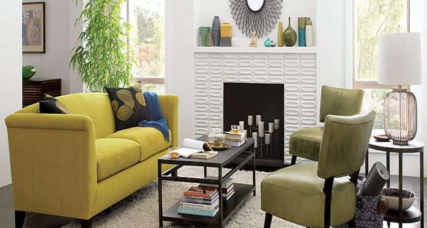 Yellow Living Ideas Room