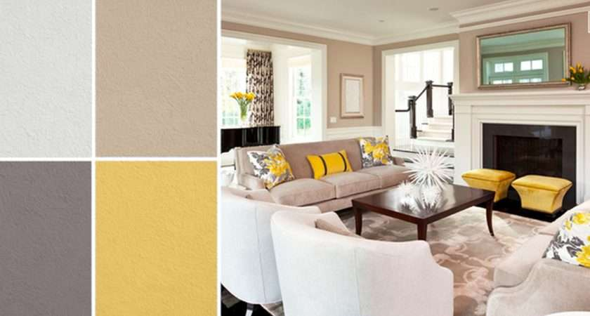 Yellow Living Room Decor Peenmedia