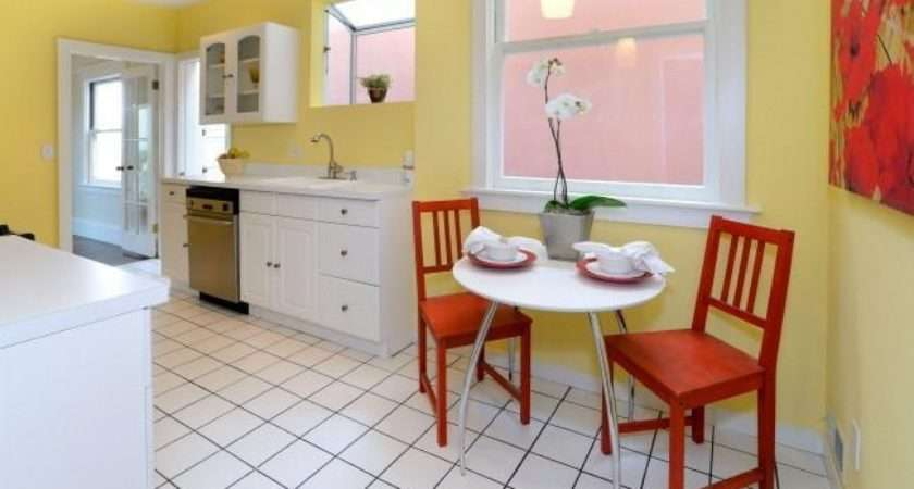 Yellow Red Kitchen Home Pinterest