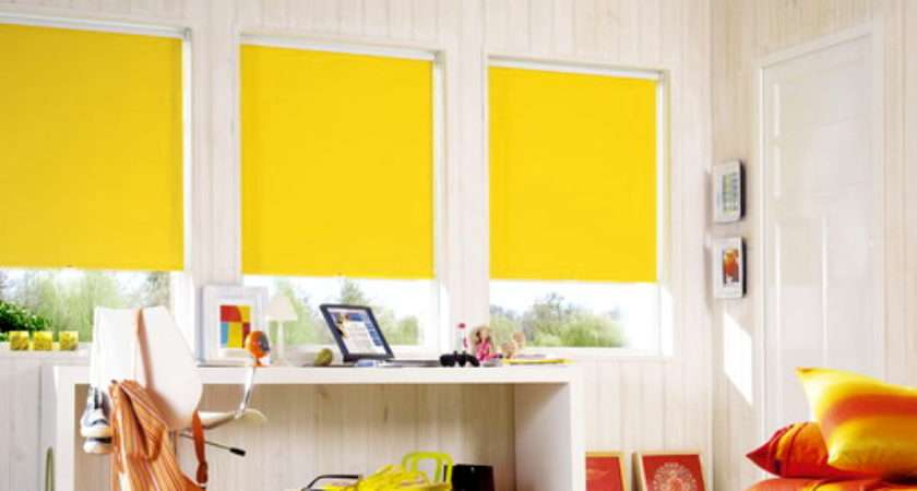 Yellow Roller Sale Blinds