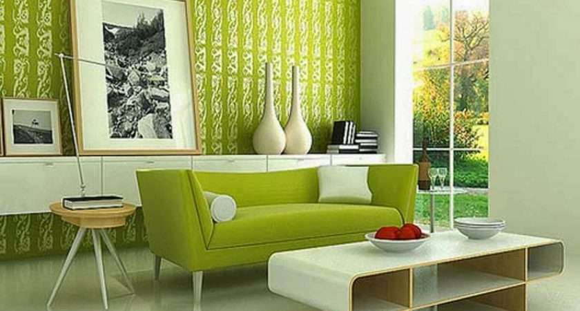 Your Computer Modern Living Room Green Make