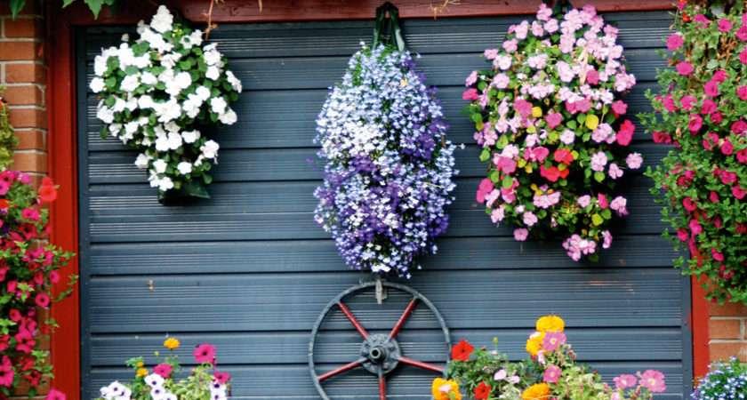 Yourself Create Hanging Basket Display