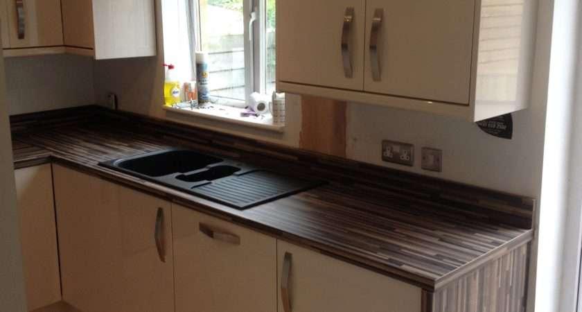 Zebrano Kitchen Worktops Exceed Kitchens Manchester