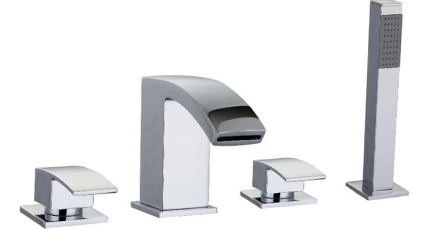 Zen Hole Bath Shower Mixer Aqualla Brassware