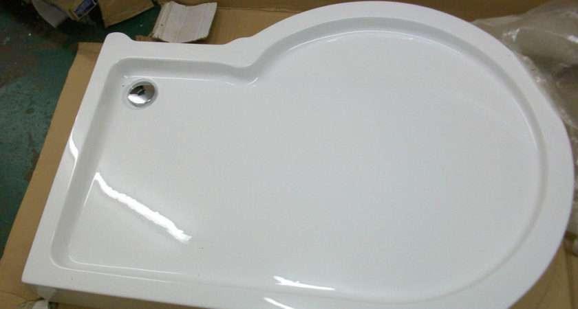 Zone Shower Tray Shaped Enclosure Rrp Ebay